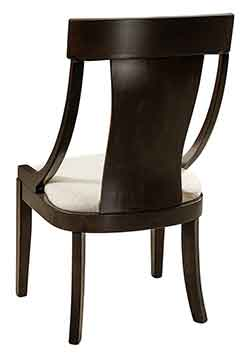 The Woodloft Amish Custom Made Formal Dining Chairs