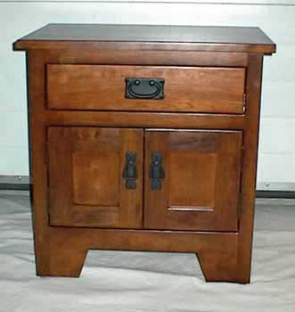Custom Amish Made Cherry Mission Nightstand or Endtalble
