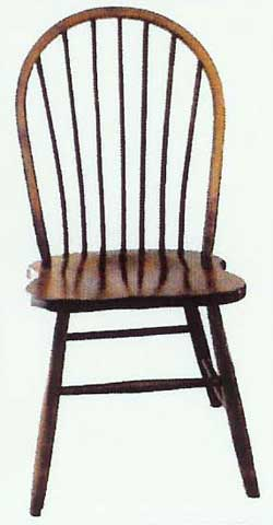 Amish Made Straight Spindle Chair