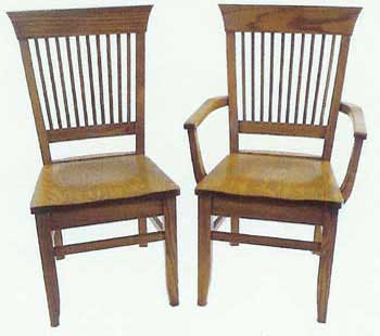 Amish Made Mission Berkshire Chair