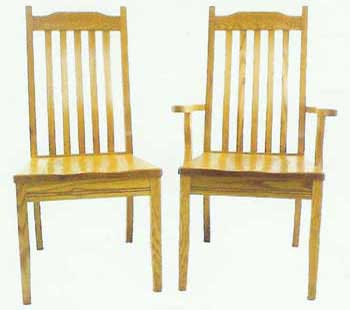 Amish Made Mission Michian Chair