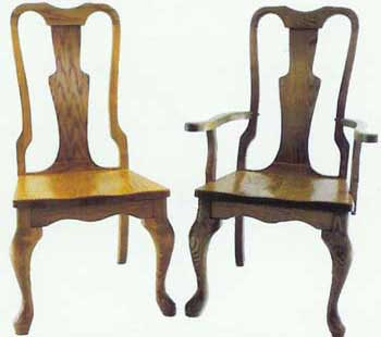 Amish Made Queen Anne Chairs