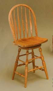 Amish Made Bent Feather Chair