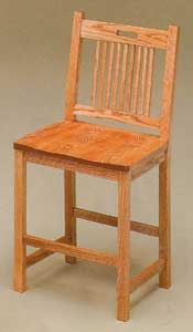 Amish Made Bayhill Stool
