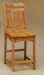 Amish Made Bradford Stool