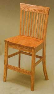 Amish Made Carlisle Stool