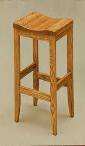 Amish Made Clifton Stool