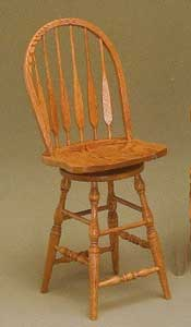 Amish Made Hi Lo Feather Stool