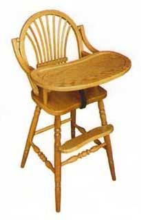 Sheaf Back High Chair