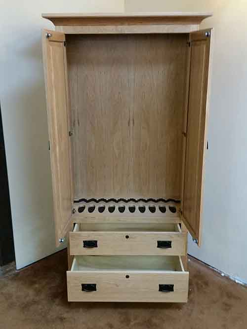 Woodloft Amish Custom Made Gun Cabinets and Safes