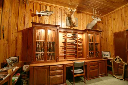 Got my Gun Cabinet - The Club House