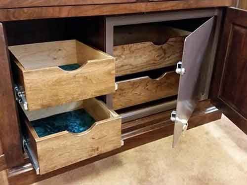Woodloft Com Safes Can Be Made With Solid Maple Drawers