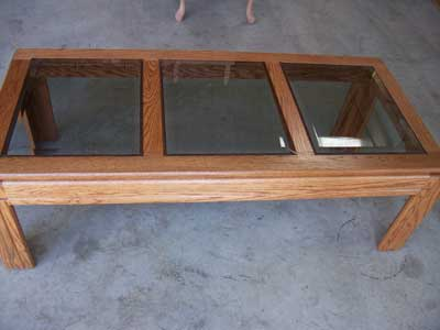 Locally Amish Custom Handcrafted Coffee Tables