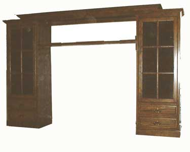 Custom Amish Made Widescreen Entertainment Center