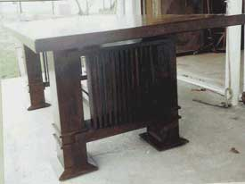 Solid Cherry Gustav Stickley Inspired Mission Table