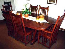 Amish Made Cherry Prestige Mission Table