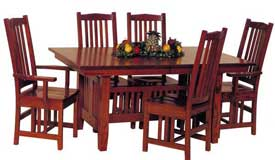 Amish Made Stickley Style Table and Chairs