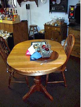 Amish Made Natural Cherry Table
