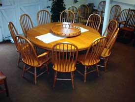 Amish Made Round Cherry Table
