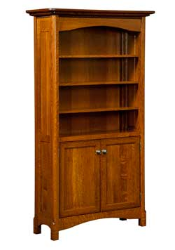 Woodloft Com Locally Amish Custom Crafted Bookcases