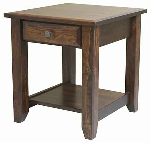 The Popular Amish Crafted Ashton Open Base Nightstand Crafted Out Of Solid  Brown Maple With A Rich Tobacco Stain Finish.