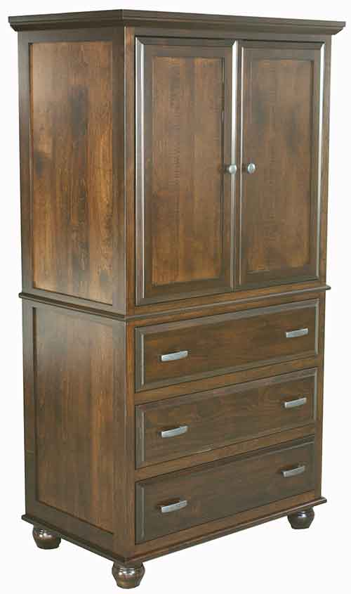 Cherry Wood Armoire
