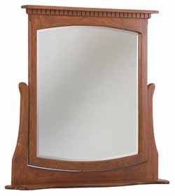 The Wood Loft Amish Custom Made Chest Mirrors Wall