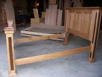 Locally amish custom made beds and bedroom furniture for Custom made bedroom furniture