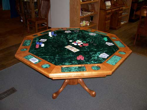 Woodloft Com Locally Custom Made Texas Hold Em And
